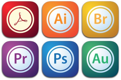Adobe Creative Suite Icons