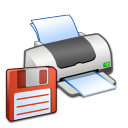 Hardware-Printer-Floppy icon