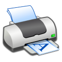 Hardware Printer Landscape icon