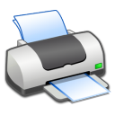 Hardware Printer ON icon