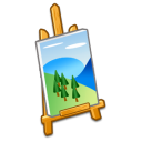 http://icons.iconarchive.com/icons/tpdkdesign.net/refresh-cl/128/Misc-Easel-2-icon.png