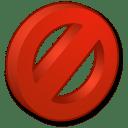 Symbols Forbidden icon