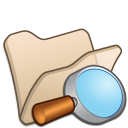 Folder-beige-explorer icon