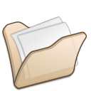 Folder-beige-mydocuments icon
