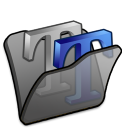 folder black font2 icon