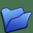 folder blue icon