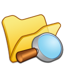 folder yellow explorer icon