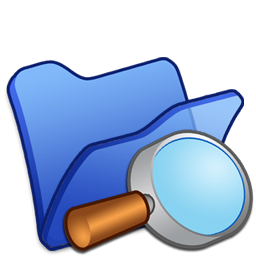 folder blue explorer icon