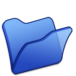 Folder blue Icon | Refresh Cl Iconset | TpdkDesign.net