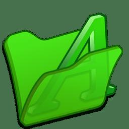 folder green font1 icon