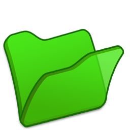Folder green Icon | Refresh Cl Iconset | TpdkDesign.net