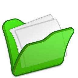 folder green mydocuments icon