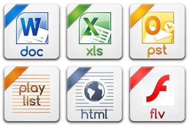 Basic Filetypes 2 Icons