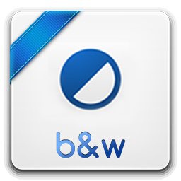 b w icon