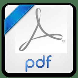 Pdf Icon Photoshop Filetypes Iconset Trayse101
