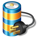 Battery-power icon