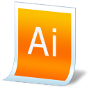 Document-adobe-illustrator icon