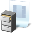 Document-archive icon