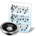 http://icons.iconarchive.com/icons/treetog/junior/128/document-audio-icon.png