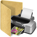 folder printer icon