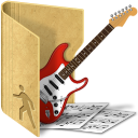 folder public music icon