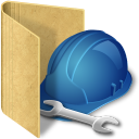 folder tools icon