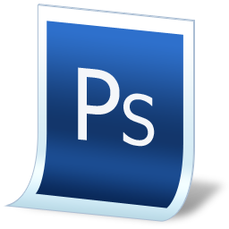 document adobe photoshop icon