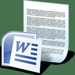 Document word Icon | Junior Iconset | Treetog ArtWork