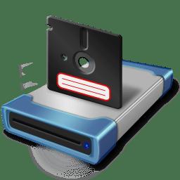 Drive big disk icon