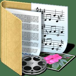 folder media icon