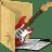 folder public music icon