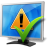 monitor ok icon