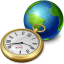 Network-clock icon