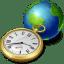 Network-clock icon