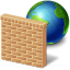 network firewall icon