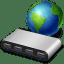 network usb hub icon