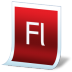 Document-adobe-flash icon
