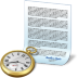Document-clock icon