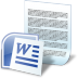 Document-word icon