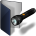 Folder-blue-pocket-lamp icon
