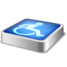 Barrier-free icon