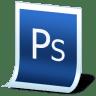 Document-adobe-photoshop icon