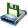 Drive-disk icon