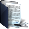 Folder-contract icon