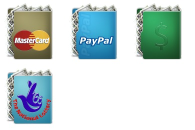 Aquave Cash Icons
