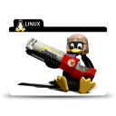 linux rocket icon