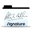 signature icon