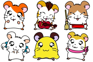 Hamtaro Icons
