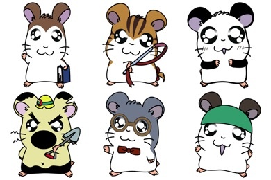 Hamtaro2 Icons