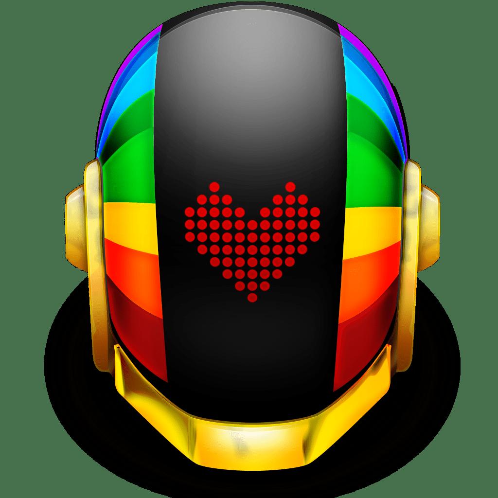 Daft Punk Transparent Png Guyman helmet love icon \x3cb\x3edaft punks ...